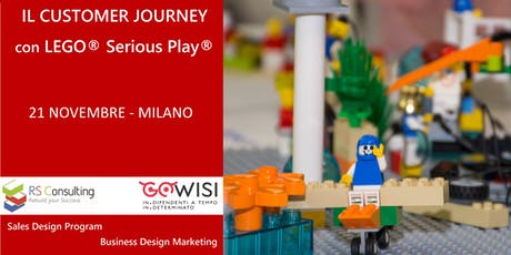 IL CUSTOMER JOURNEY con LEGO® Serious Play® biglietti