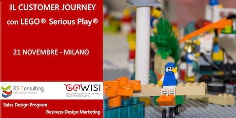 IL CUSTOMER JOURNEY con LEGO® Serious Play® biglietti
