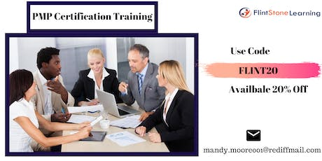 PMP Bootcamp training in Williams Lake, BC tickets