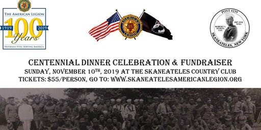 American Legion Centennial Dinner Celebration