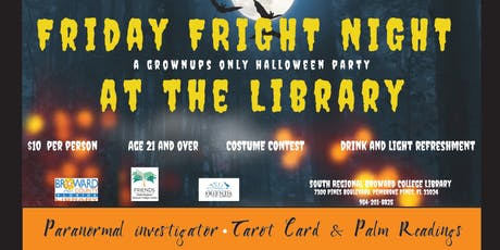 Friday FRIGHT NIGHT at the Library tickets