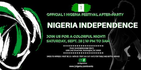 Official 1 Nigeria Festival After-Party (PRIVATE & EXCLUSIVE VENUE) tickets