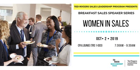 Breakfast Sales Speaker Series - Women in Sales tickets