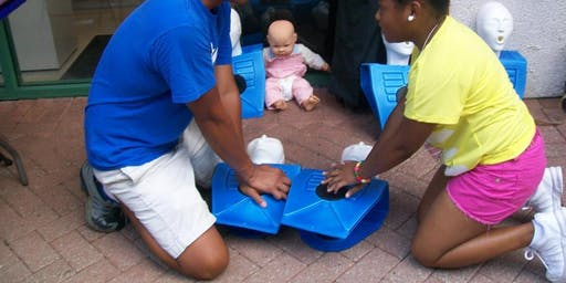 Community CPR and/or Basic First Aid (Blended Learning)