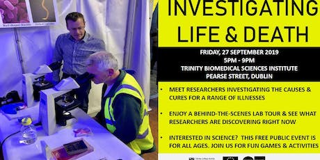 EU Researchers Night at Trinity Biomedical Sciences Institute  tickets