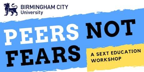 Peers not Fears @ BCU: A Sext Education Workshop tickets