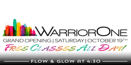 GRAND Opening of WarriorOne! tickets