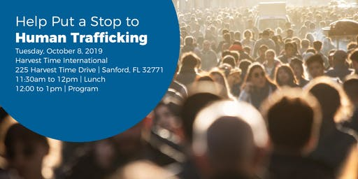 Help Put a Stop to Human Trafficking