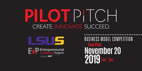 Pilot Pitch 2019 – LSUS Top 5 Final Pitch  tickets