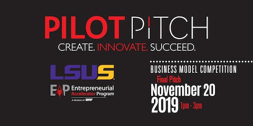 Pilot Pitch 2019 – LSUS Top 5 Final Pitch
