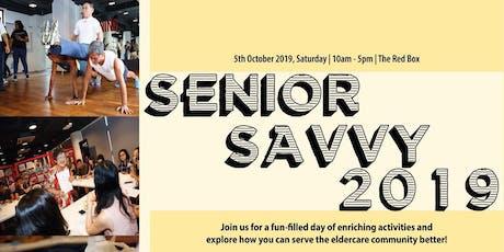 Senior Savvy 2019 tickets