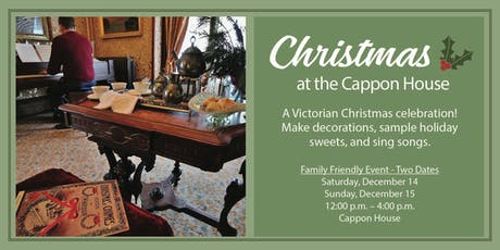 Christmas at the Cappon House tickets