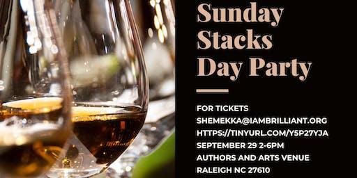 I Am Brilliant Presents:  Sunday Stacks, Shop & Sip