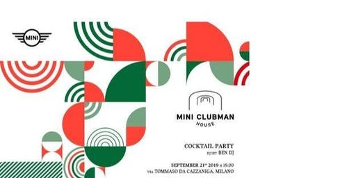 CFM / MINI Clubman House Private Events - Free Drink