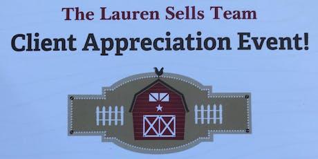 Client Appreciation Event!  tickets