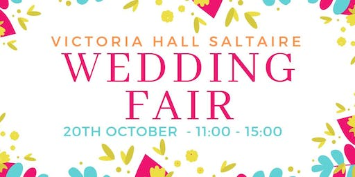 Victoria Hall Saltaire Wedding Fair