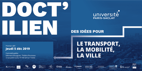 DOCT'ILIEN: Des idées pour le transport, la mobilité et la ville billets