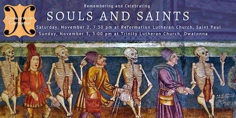 Remembering Souls and Celebrating Saints: Sunday tickets