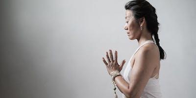 Meditation class with Karianne Kraaijestein - lululemon Amsterdam
