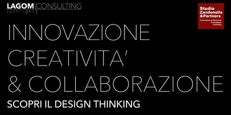 Studio Zandonella & Partners presenta: Design Thinking Taster Workshop biglietti