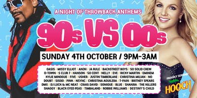 00s vs 90s - A Night of Throwback Anthems at The Lost Paradise