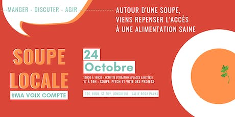 Soupe locale tickets