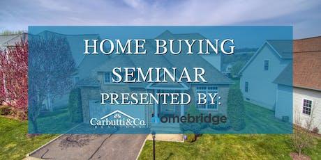 Home Buyers Seminar tickets