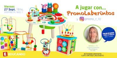 ¡A jugar con PronoLaberintos! en Jugueterías Educando