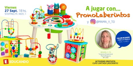 ¡A jugar con PronoLaberintos! en Jugueterías Educando entradas