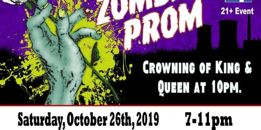 1st Annual Zombie Prom: 21 & Older Event