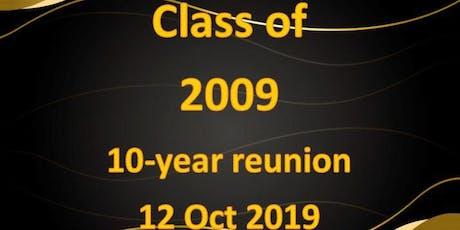 Pilgrim High School 10 Year Reunion  tickets