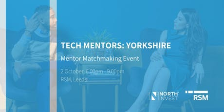 TECH MENTORS: Yorkshire - Mentor Matchmaking Event tickets