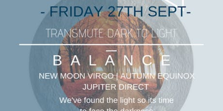BALANCE  - AUTUMN EQUINOX CRYSTAL HEALING AND MEDITATION WORKSHOP tickets