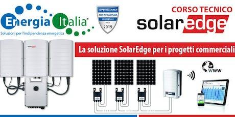 Soluzioni Commerciali Solaredge biglietti