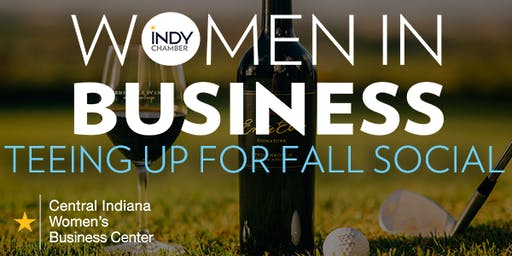 Women in Business - Teeing Up For Fall Social