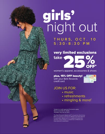Girls Night Out October 2019