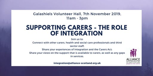 Supporting Carers - The Role of Integration