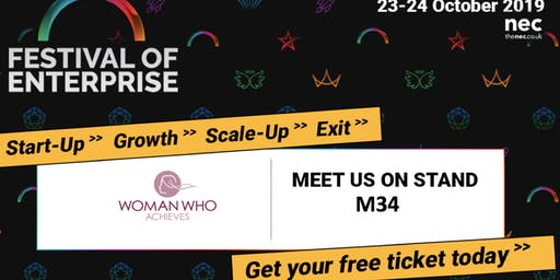 Woman Who Inspires Meet Up at the Festival of Enterprise