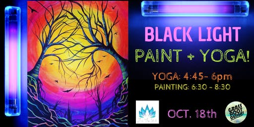 Black Light Paint Night!