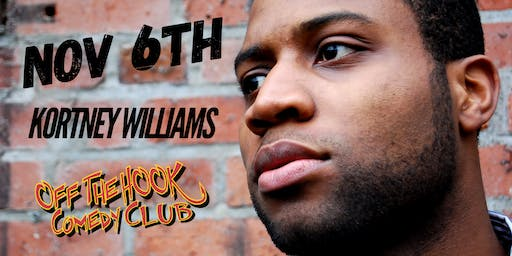 Comedian Kortney Williams Live In Naples, FL Off the hook comedy club