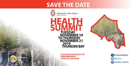 Nishnawbe Aski Nation (NAN) Health Summit tickets
