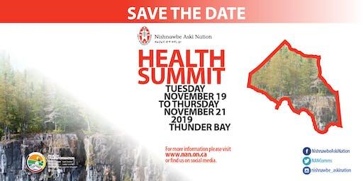 Nishnawbe Aski Nation (NAN) Health Summit