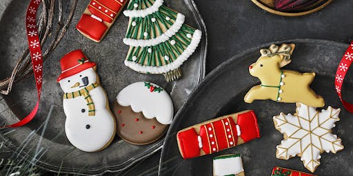 SOLD OUT - Biscuiteers School of Icing - Happy Christmas - Northcote Road