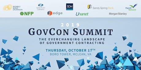 2019 GovCon Summit tickets