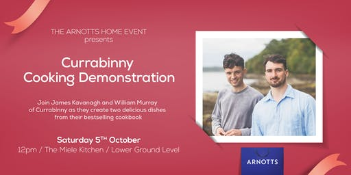 Currabinny Cooking Demonstration at Arnotts