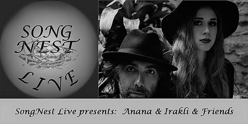 SongNest presents Anana & Irakli and friends, Tuesday October 22nd, 2019