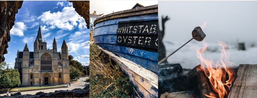 Day Tour From London out to Rochester, Faversham & Whitstable