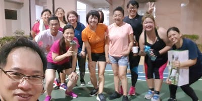 Toa Payoh Monday Fat Burn Exercise