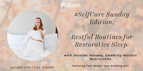 PJ Party:  Restful Routines for Restorative Sleep with Jennifer Hanway tickets