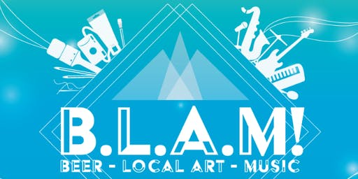 BLAM (Beer, Local Art, Music) at Warren Station - November 23rd